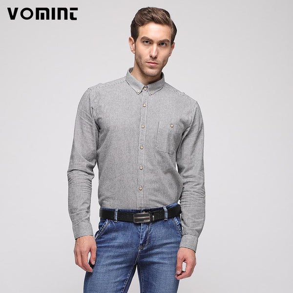 Long Sleeves Turn-down Collar shirt