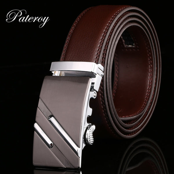 PATEROY Belt  Genuine Leather