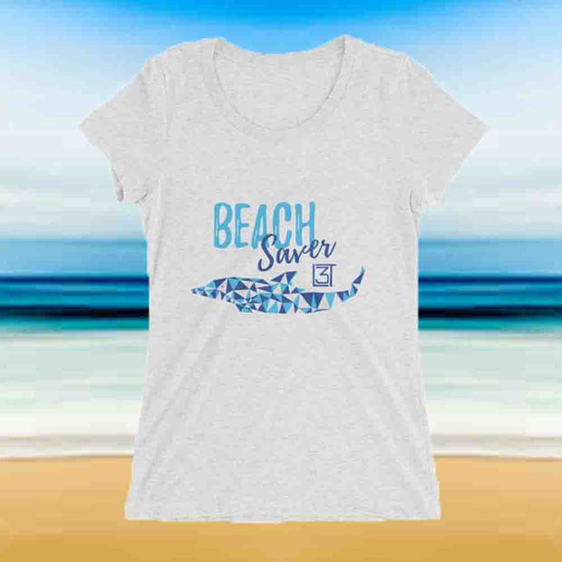 3LT Ladies Beach Saver Tee