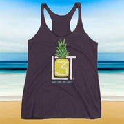 3LT Pineapple Racer Tank - Locals Living Like Tourists, 3LT Pineapple Racer Tank - 3LT, Locals Living Like Tourists - 3LT, [product-vendor] Locals Living Like Tourists, Locals Living Like Tourists - 3LT, Locals Living Like Tourists - Locals Living Like Tourists, Locals Living Like Tourists - L3T