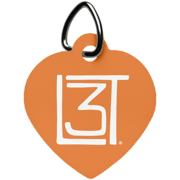 3LT Heart Dog Tag - Locals Living Like Tourists, 3LT Heart Dog Tag - 3LT, CustomCat - 3LT, [product-vendor] Locals Living Like Tourists, Locals Living Like Tourists - 3LT, Locals Living Like Tourists - Locals Living Like Tourists, Locals Living Like Tourists - L3T