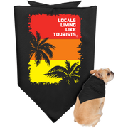 LLLT Doggie Bandana - Red Palms - Locals Living Like Tourists, LLLT Doggie Bandana - Red Palms - 3LT, CustomCat - 3LT, [product-vendor] Locals Living Like Tourists, Locals Living Like Tourists - 3LT, Locals Living Like Tourists - Locals Living Like Tourists, Locals Living Like Tourists - L3T