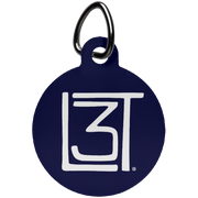3LT Circle Dog Tag - Locals Living Like Tourists, 3LT Circle Dog Tag - 3LT, CustomCat - 3LT, [product-vendor] Locals Living Like Tourists, Locals Living Like Tourists - 3LT, Locals Living Like Tourists - Locals Living Like Tourists, Locals Living Like Tourists - L3T