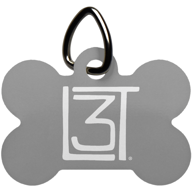 3LT Bone Dog Tag - Locals Living Like Tourists, 3LT Bone Dog Tag - 3LT, CustomCat - 3LT, [product-vendor] Locals Living Like Tourists, Locals Living Like Tourists - 3LT, Locals Living Like Tourists - Locals Living Like Tourists, Locals Living Like Tourists - L3T