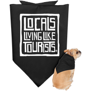 Locals Living Like Tourists Doggie Bandana - Locals Living Like Tourists, Locals Living Like Tourists Doggie Bandana - 3LT, CustomCat - 3LT, [product-vendor] Locals Living Like Tourists, Locals Living Like Tourists - 3LT, Locals Living Like Tourists - Locals Living Like Tourists, Locals Living Like Tourists - L3T