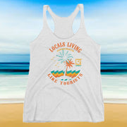 LLLT Palm Island Racerback Tank - Locals Living Like Tourists, LLLT Palm Island Racerback Tank - 3LT, Locals Living Like Tourists - 3LT, [product-vendor] Locals Living Like Tourists, Locals Living Like Tourists - 3LT, Locals Living Like Tourists - Locals Living Like Tourists, Locals Living Like Tourists - L3T