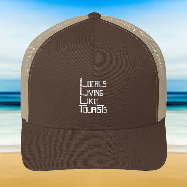 Locals Living Like Tourists Trucker Cap - Locals Living Like Tourists, Locals Living Like Tourists Trucker Cap - 3LT, Locals Living Like Tourists - 3LT, [product-vendor] Locals Living Like Tourists, Locals Living Like Tourists - 3LT, Locals Living Like Tourists - Locals Living Like Tourists, Locals Living Like Tourists - L3T