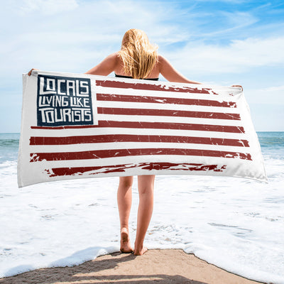 Locals Living Like Tourists American Flag Beach Towel - Locals Living Like Tourists, Locals Living Like Tourists American Flag Beach Towel - 3LT, Locals Living Like Tourists - 3LT, [product-vendor] Locals Living Like Tourists, Locals Living Like Tourists - 3LT, Locals Living Like Tourists - Locals Living Like Tourists, Locals Living Like Tourists - L3T