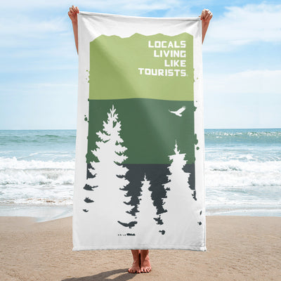 Locals Living Like Tourists Pines Beach Towel - Locals Living Like Tourists, Locals Living Like Tourists Pines Beach Towel - 3LT, Locals Living Like Tourists - 3LT, [product-vendor] Locals Living Like Tourists, Locals Living Like Tourists - 3LT, Locals Living Like Tourists - Locals Living Like Tourists, Locals Living Like Tourists - L3T