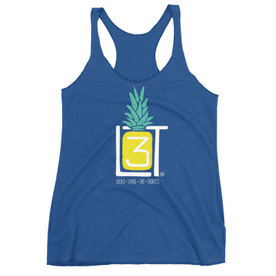 3LT Ladies Pineapple Racerback - Locals Living Like Tourists, 3LT Ladies Pineapple Racerback - 3LT, Locals Living Like Tourists - 3LT, [product-vendor] Locals Living Like Tourists, Locals Living Like Tourists - 3LT, Locals Living Like Tourists - Locals Living Like Tourists, Locals Living Like Tourists - L3T