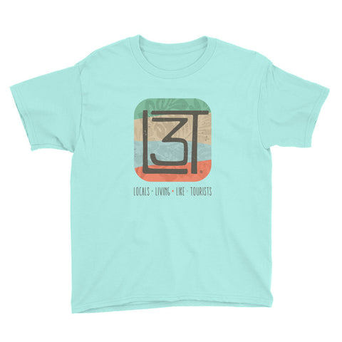 3LT Signature Youth Tee - Locals Living Like Tourists, 3LT Signature Youth Tee - 3LT, Locals Living Like Tourists - 3LT, [product-vendor] Locals Living Like Tourists, Locals Living Like Tourists - 3LT, Locals Living Like Tourists - Locals Living Like Tourists, Locals Living Like Tourists - L3T