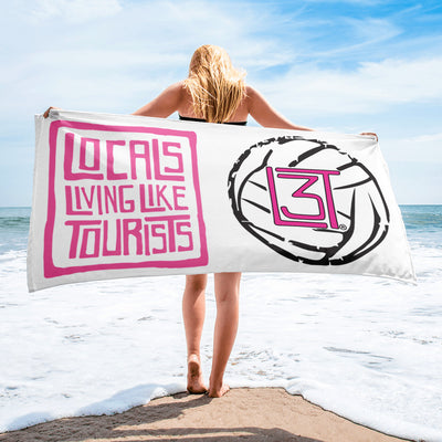 3LT Volleyball Beach Towel - pink - Locals Living Like Tourists, 3LT Volleyball Beach Towel - pink - 3LT, Locals Living Like Tourists - 3LT, [product-vendor] Locals Living Like Tourists, Locals Living Like Tourists - 3LT, Locals Living Like Tourists - Locals Living Like Tourists, Locals Living Like Tourists - L3T