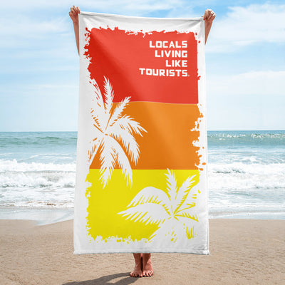 Locals Living Like Tourists Red Palms Beach Towel - Locals Living Like Tourists, Locals Living Like Tourists Red Palms Beach Towel - 3LT, Locals Living Like Tourists - 3LT, [product-vendor] Locals Living Like Tourists, Locals Living Like Tourists - 3LT, Locals Living Like Tourists - Locals Living Like Tourists, Locals Living Like Tourists - L3T