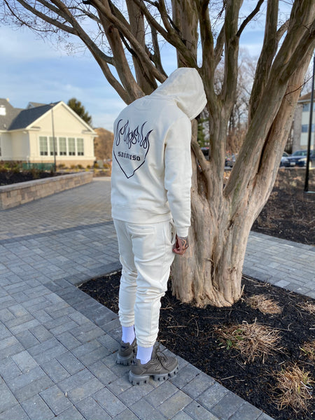 Burning hearts sweatsuit