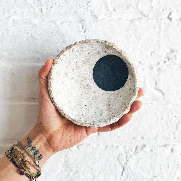 Bowl Offering: Space (Indigo Dot)