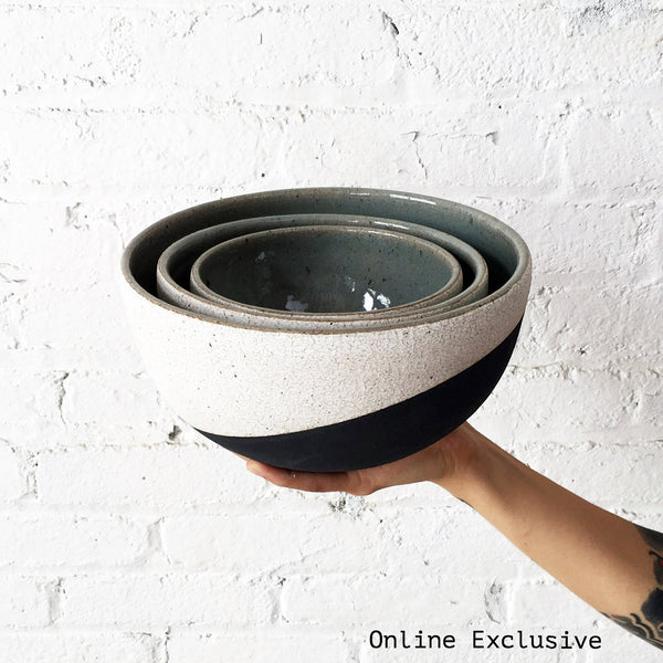 Nesting Bowls: Eclipse Set of 3