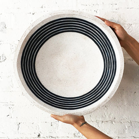 Bowl: Indigo Rings