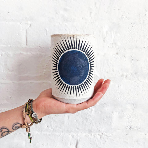 Candle: New Sun Indigo