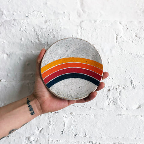 Dish: Rings Rainbow