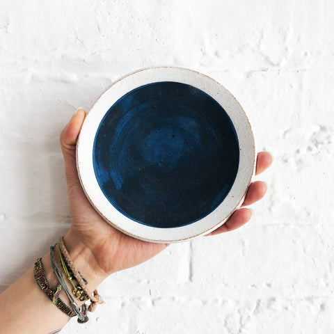 Dish: Full Moon Indigo