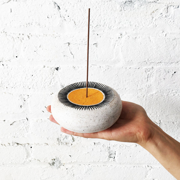 Incense Burner: New Sun Marigold