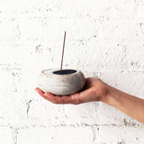 Incense Burner: Crescent Indigo