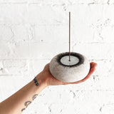 Incense Burner: New Sun White