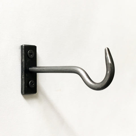 "Hardware: 3"" Iron Hook"
