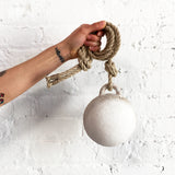 Jingle Bell Domed: White