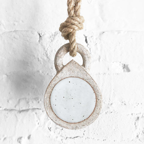Locket: Full Moon White