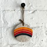 Ornament Holiday Round: Rainbow Rings