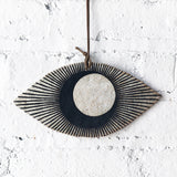 Ornament Large Eye: Black Crescent Eclipse