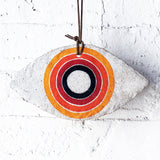 Ornament Large Eye: Rainbow Rings