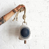 Thrown Bell Round: New Sun Indigo