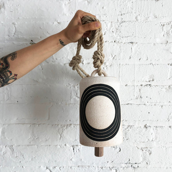 Thrown Bell Tall: Black Rings