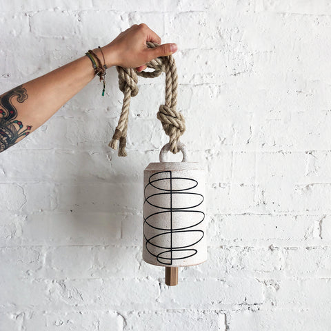 Thrown Bell Tall: Spiral