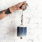 Thrown Bell Wide: Indigo Stripes