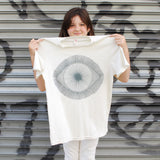 T-Shirt: White w/ Grey Eye