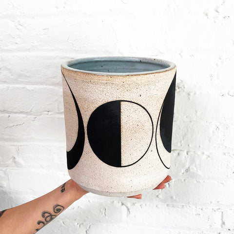 Vase Wide: Moon Phase