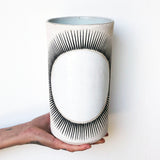 Vessel Tall Thin: New Sun White