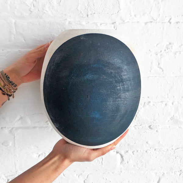 Vessel Round: Full Moon Indigo