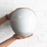 Vessel Round: Full Moon White