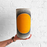 Vessel Tall Thin: New Sun Marigold