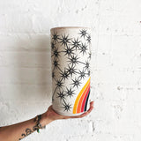 Vessel Tall Thin: Rainbow Constellations