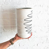 Vessel Tall Thin: Spiral