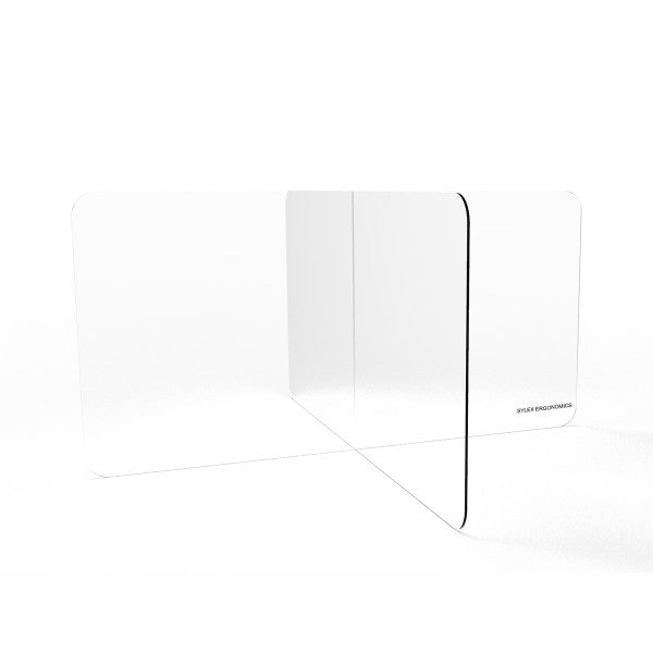 Clear Acrylic Divider Barrier Protection Sneeze & Cough Guard Shield Desk Workstation Screens