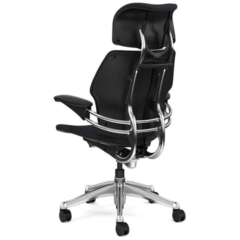 Image of Humanscale Freedom Ergonomic Chair In Premium Leather - Buy Online Now At Active Offices