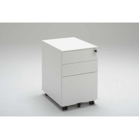 Metal Mobile 2 Drawer & 1 File Drawer Pedestal - Buy Online Now At Active Offices