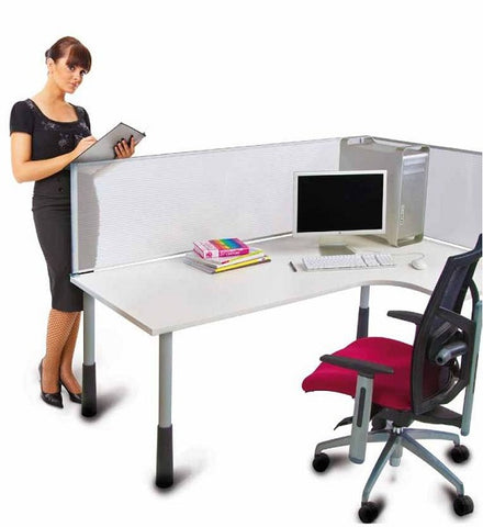 Ice Translucent Screen Divider Wall Privacy Partition For Your Office - Buy Online Now At Active Offices