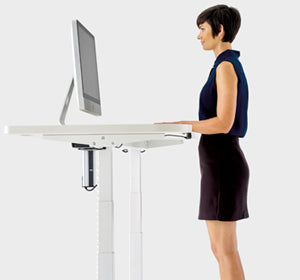 Aerosmart Pro Height Adjustable Standing Desk Aus Made.